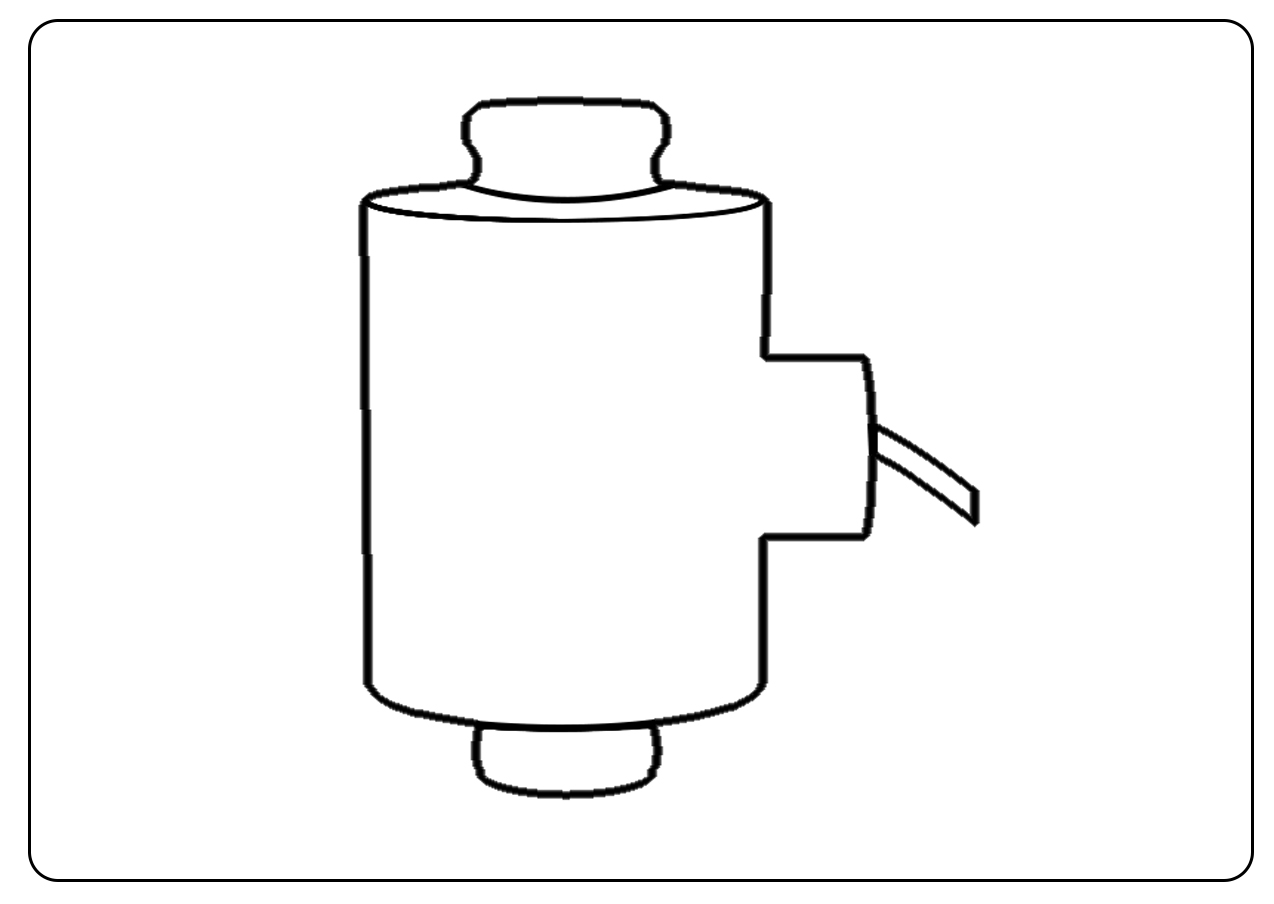 loadcell trụ icon