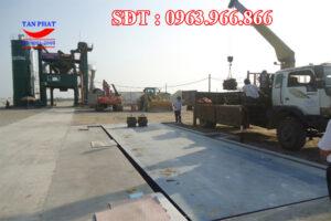 Cân 60 tấn trạm trộn bê tông nhựa